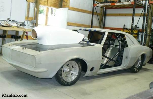 1968 Chevy Camaro chassis