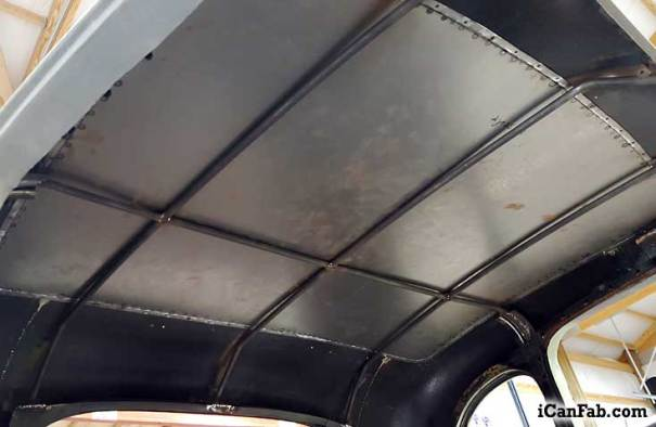 Plymouth Coupe Sheet Metal Roof