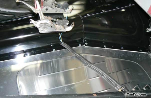Custom Sheet Metal For Drag Car Metal Fabrication Tig
