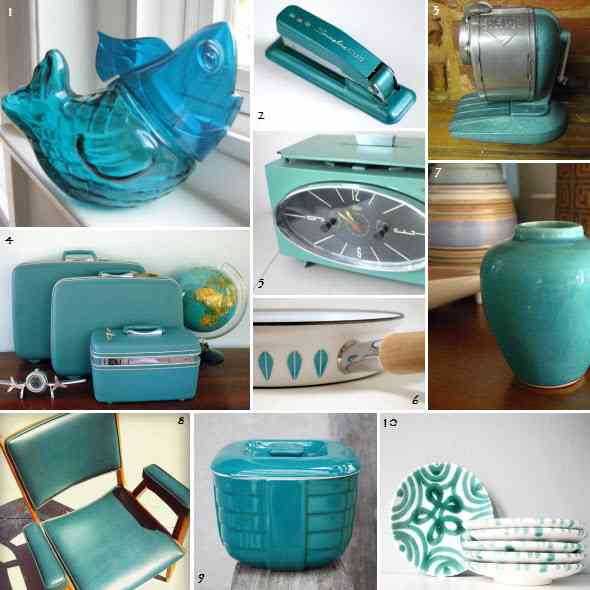 Teal Home Decor Accents