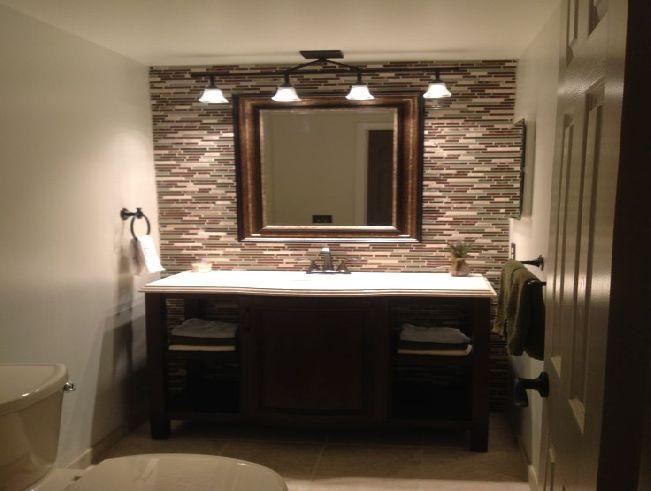 Image Result For Framed Bathroom Mirror Ideas