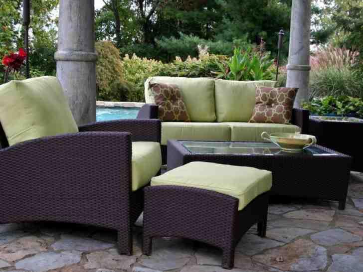 Wicker Look Outdoor Furniture
