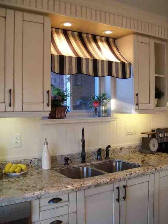 Kitchen Window Dressing Ideas Decor IdeasDecor Ideas