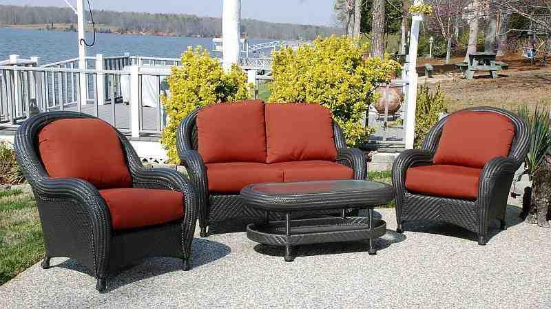 Cayman Weatherproof Resin Wicker Patio Furniture Set