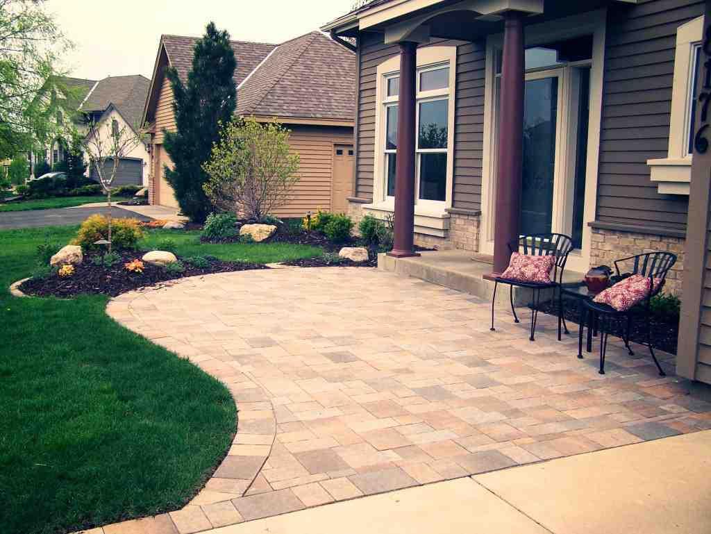 Front Yard Walkway Landscaping Ideas - Decor IdeasDecor Ideas on Front Yard Patio id=11737