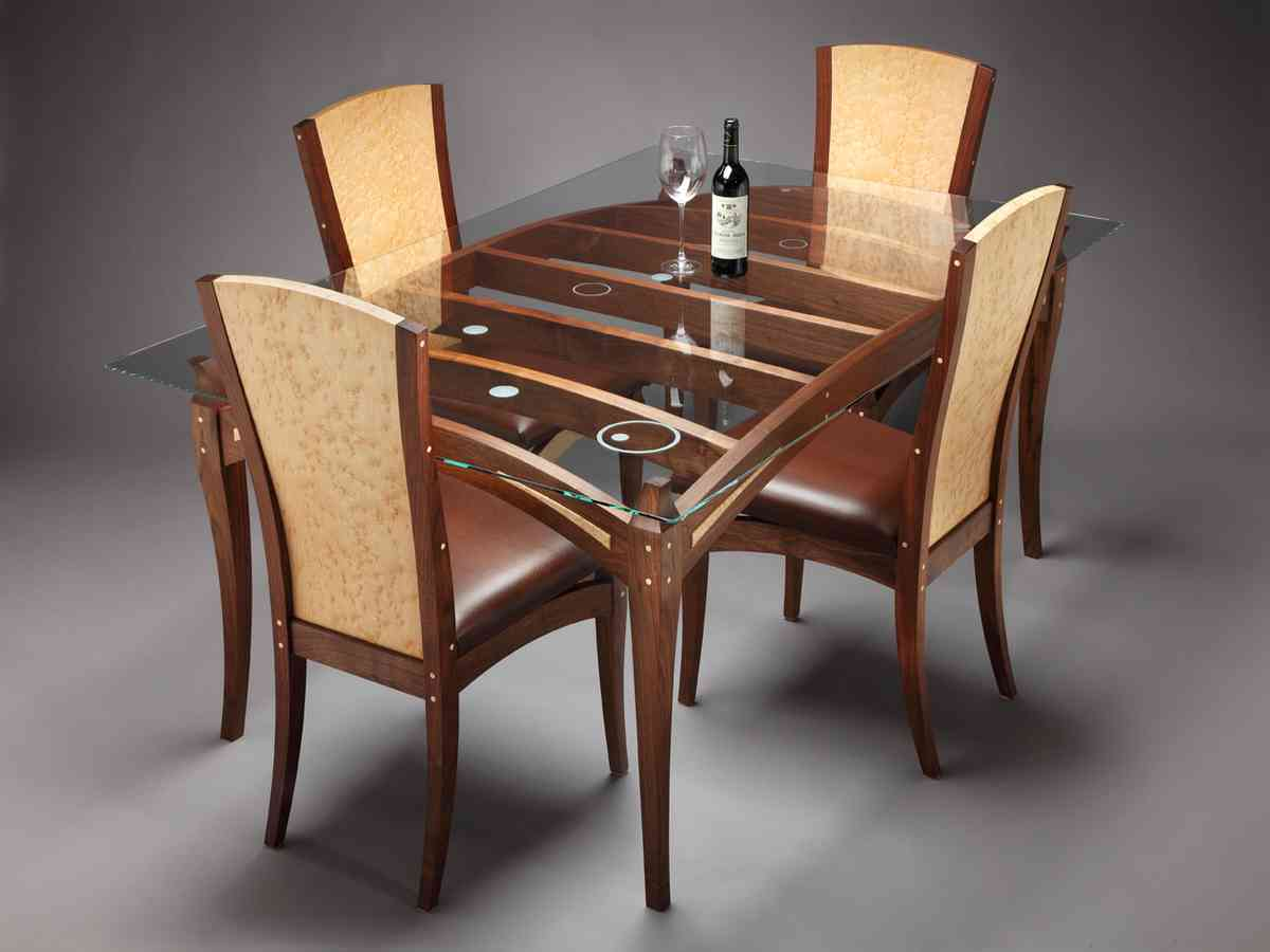 Glass Top Dining Table Set 4 Chairs Decor IdeasDecor Ideas