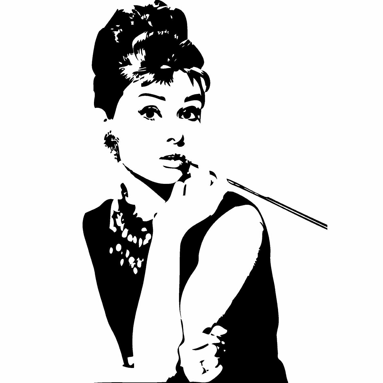 Audrey Hepburn Breakfast At Tiffany S Wall Sticker Deca