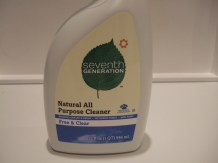 Photo of bottle of cleaner