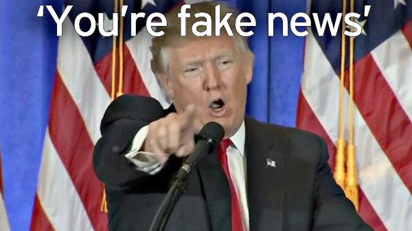 Donald Trump's Fake News About 'Fake News' | I Can't Be Famous