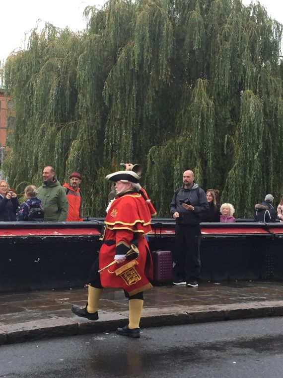 PIC OF TOWN CRIER IN FULL OUTFIT