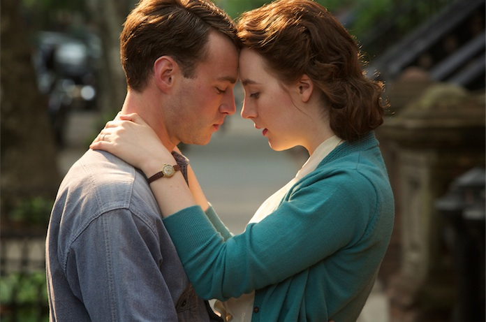 Saoirse Ronan and Emory Cohen star in the mid-century romance BROOKLYN (2015)