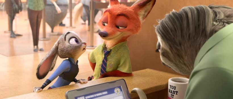 Zootopia-Sloth-Trailer-Screenshot-Nick-Wilde-Judy-Hopps-53
