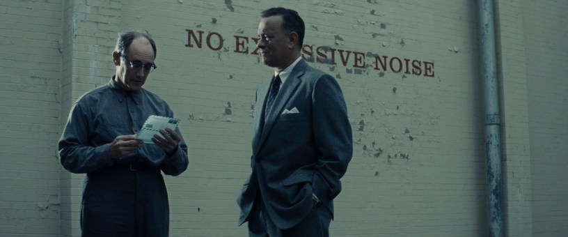 Mark Rylance and Tom Hanks star in a true story from the Cold War in Steven Spielberg's BRIDGE OF SPIES (2015)