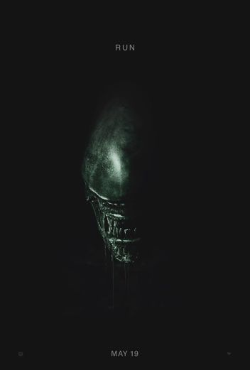 One Sheet poster for ALIEN: COVENANT (2017)