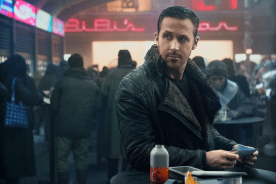 Ryan Gosling stars in BLADE RUNNER 2049.