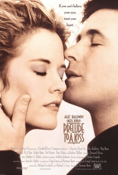 July 10, 1992: PRELUDE TO A KISS - $20 million total box office gross