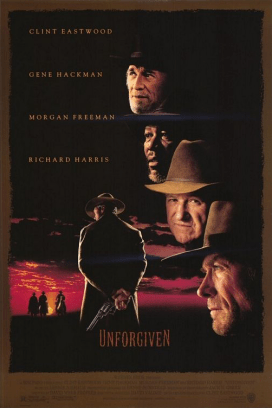 August 7, 1992: UNFORGIVEN - $101.1 million total box office gross