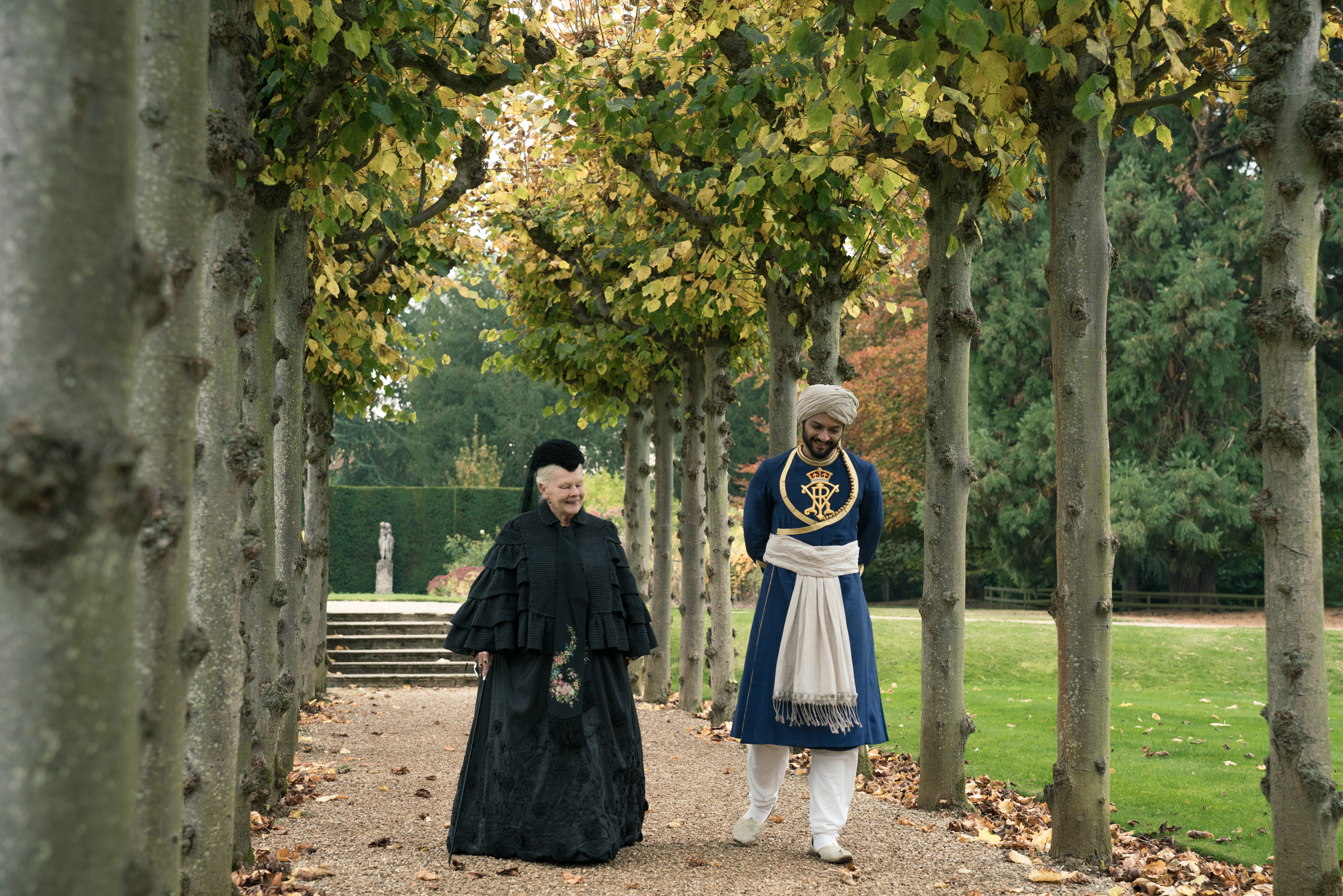 Judi Dench and Ali Fazal star in VICTORIA & ABDUL