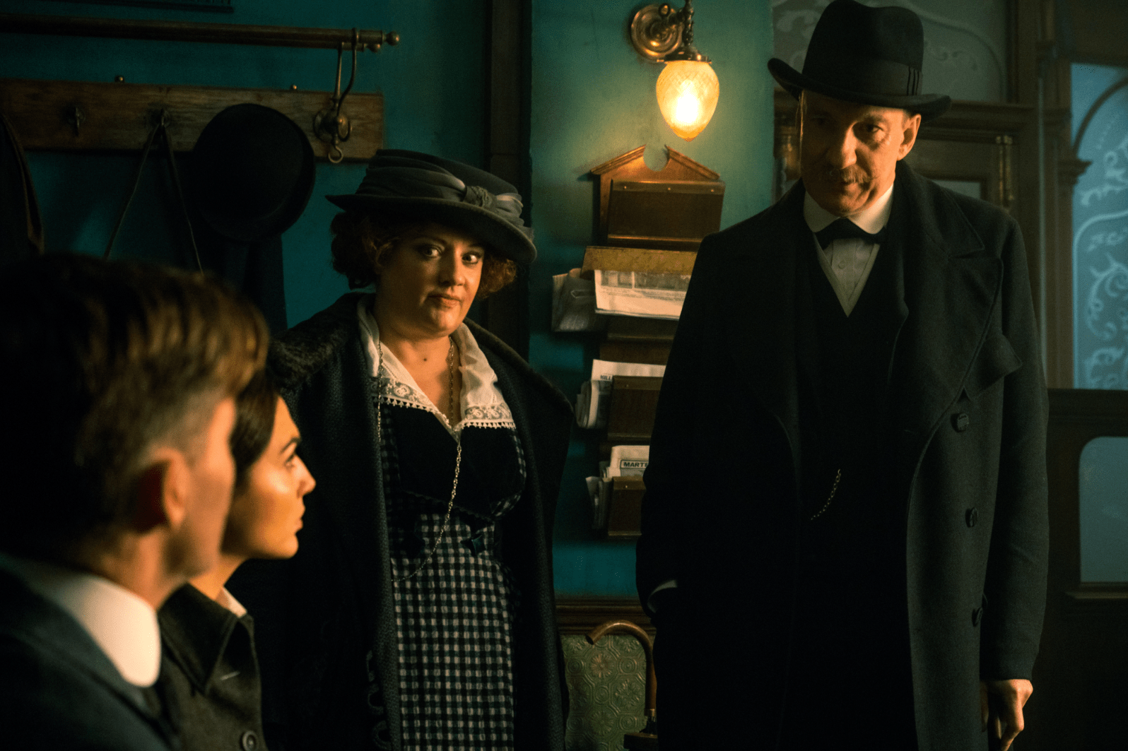 Lucy Davis and David Thewlis co-star in WONDER WOMAN