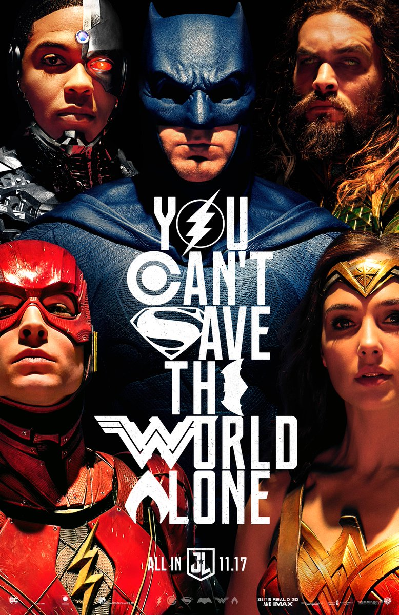 One Sheet Poster for JUSTICE LEAGUE.