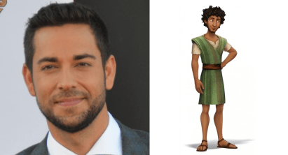 Zachary Levi as Joseph in THE STAR.