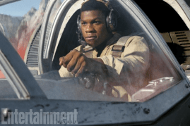 John Boyega co-stars as Finn in STAR WARS: THE LAST JEDI.