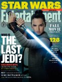 Entertainment Weekly Rey Cover for STAR WARS: THE LAST JEDI.