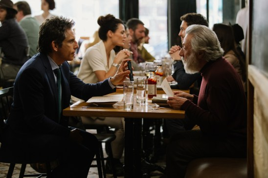 Ben Stiller and Dustin Hoffman star in THE MEYEROWITZ STORIES (NEW AND SELECTED).