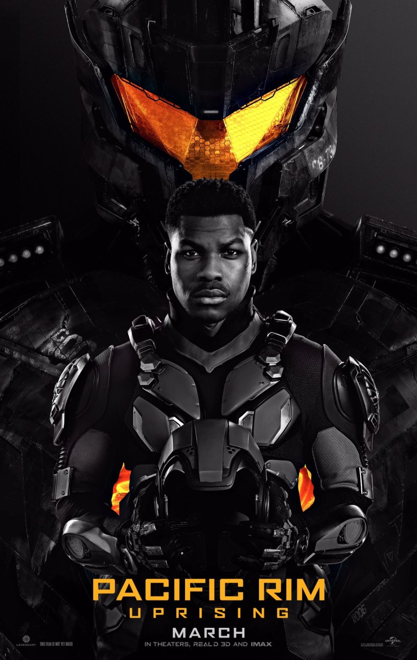 Poster for PACIFIC RIM: UPRISING.