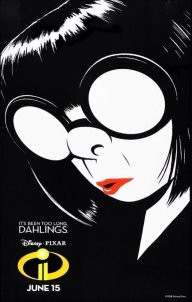 INCREDIBLES 2 Edna One Sheet