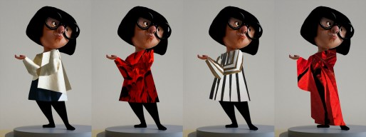 Edna Costume Concepts. ©2018 Disney•Pixar. All Rights Reserved.