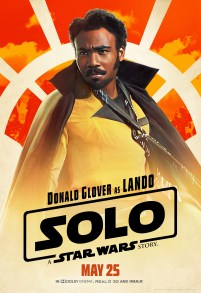 Donald Glover as Lando in SOLO: A STAR WARS STORY.