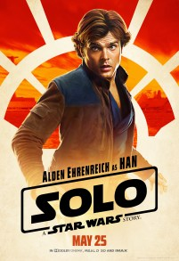Alden Ehrenreich as Han in SOLO: A STAR WARS STORY.