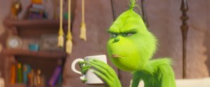 Benedict Cumberbatch stars as the voice of THE GRINCH