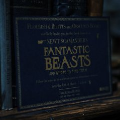 Newt Scamander's book in FANTASTIC BEASTS: THE CRIMES OF GRINDELWALD