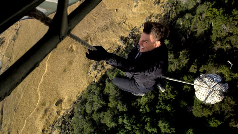 Tom Cruise as Ethan Hunt in MISSION: IMPOSSIBLE VI - FALLOUT, from Paramount Pictures and Skydance.