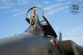 Brie Larson's Carol is a fighter pilot in Marvel Studios' CAPTAIN MARVEL