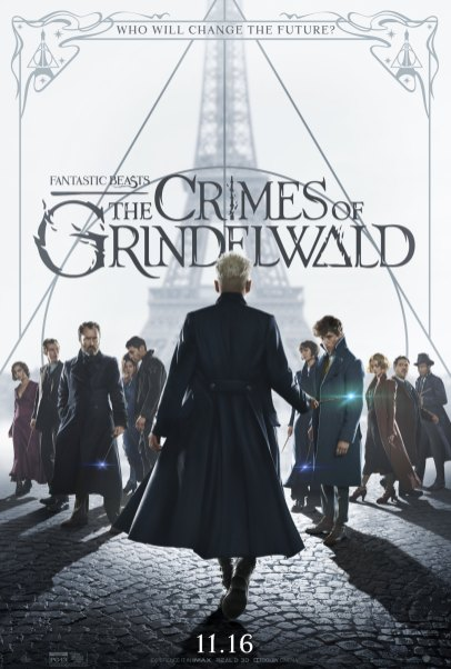 Gellert Grindelwald faces off against the cast of characters in FANTASTIC BEASTS: THE CRIMES OF GRINDELWALD (2018)