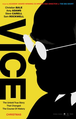 VICE One Sheet Poster (2018)