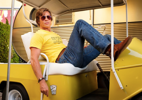 Brad Pitt stars in ONCE UPON A TIME IN HOLLYWOOD (2019)