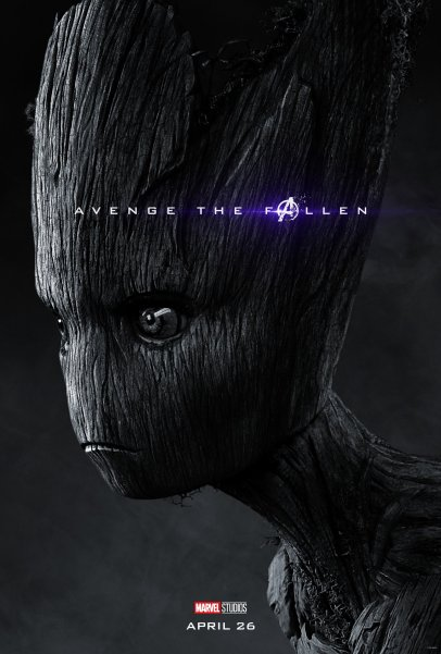 Vin Diesel is the voice of Groot in (?) AVENGERS: ENDGAME (2019)