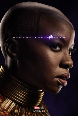 Danai Gurira is Okoye in AVENGERS: ENDGAME (2019)