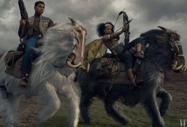 John Boyega (Finn) and Naomi Ackie (Jannah) co-star in STAR WARS: THE RISE OF SKYWALKER (2019)