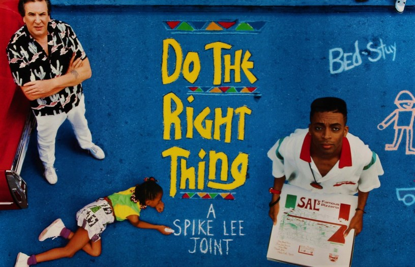 Official Poster Banner for Spike Lee's DO THE RIGHT THING (1989)