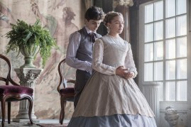 Timothée Chalamet (Laurie) and Florence Pugh (Amy) co-star in LITTLE WOMEN (2019)