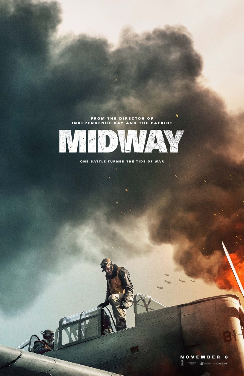 One Sheet Poster for MIDWAY (2019)