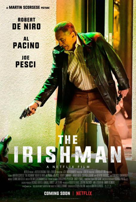 Official Poster for Martin Scorsese's THE IRISHMAN (2019)