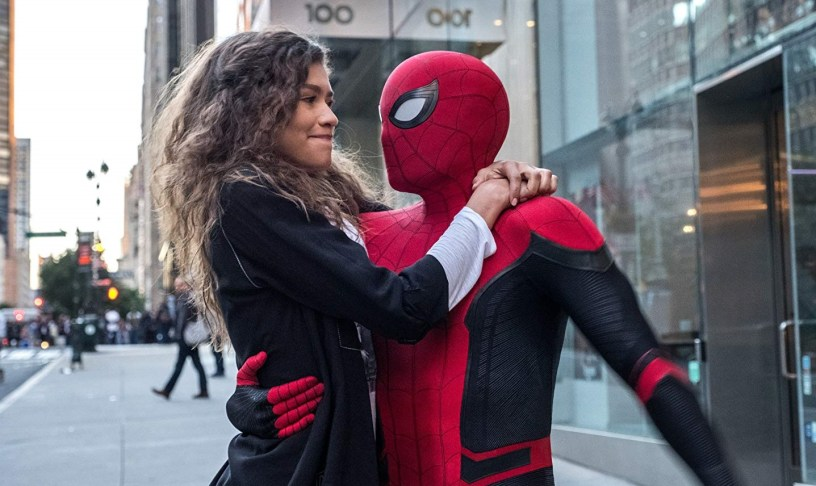 Zendaya and Tom Holland star in SPIDER-MAN: FAR FROM HOME (2019)