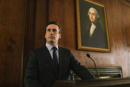 Jon Hamm co-stars in the real-life post-9/11 political thriller THE REPORT (2019)