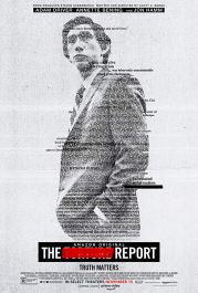 Poster for the post-9/11 political thriller THE REPORT (2019)